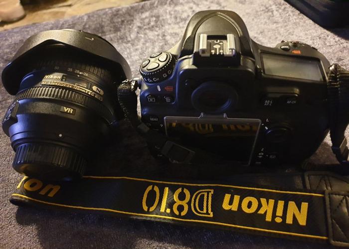 Nikon D810 DSLR Camera Body And Nikon 24-120 Lens - 2