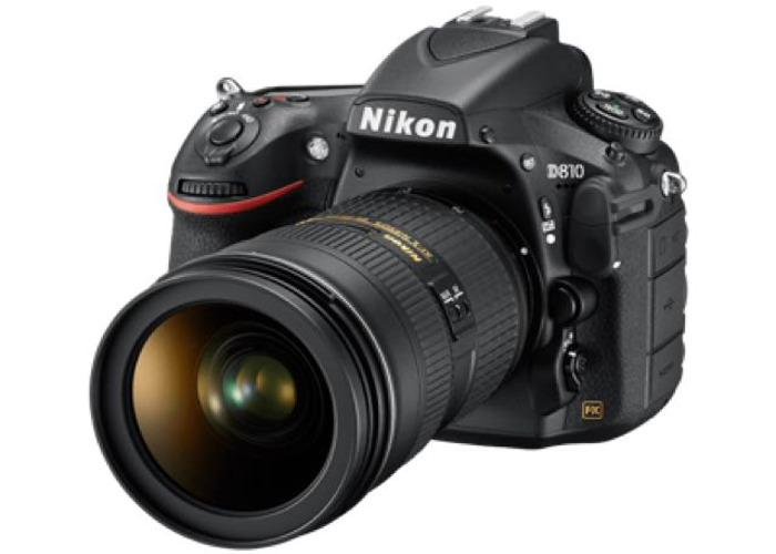 Nikon D810 with F1.8 50mm Lens and Flash Drive  - 1