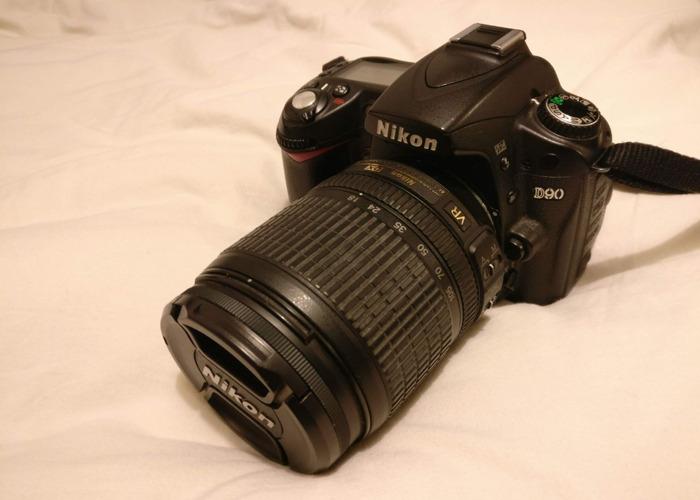 Nikon D90 with 18-105mm lens - 1