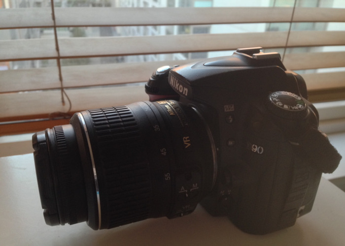 Nikon D90 with 18-55mm Lens  - 2
