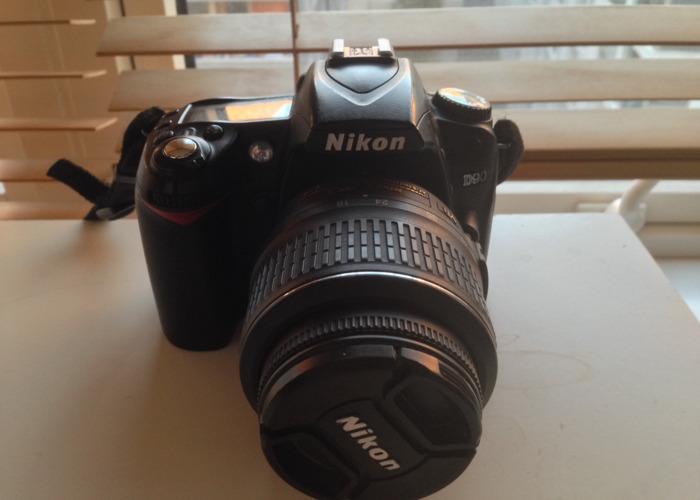 Nikon D90 with 18-55mm Lens  - 1