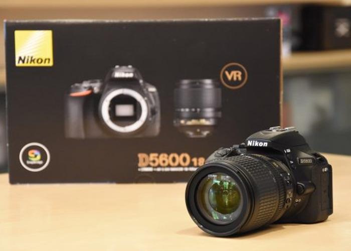 Rent Nikon D5600 DSLR Camera in London | Fat Llama