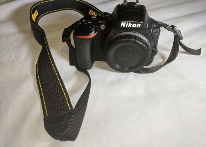 Nikon DSLR D5600 + Kit Lens + Battery + 32GB SDCard + Charger - 2