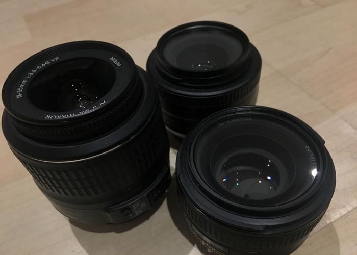 Nikon DSLR Lens Kit + Rode Microphone - 2