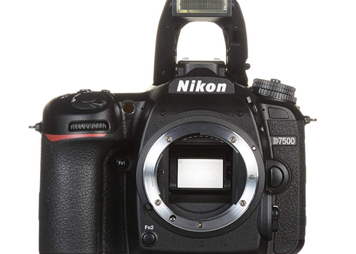 Nikon DSLR with lenses - 1