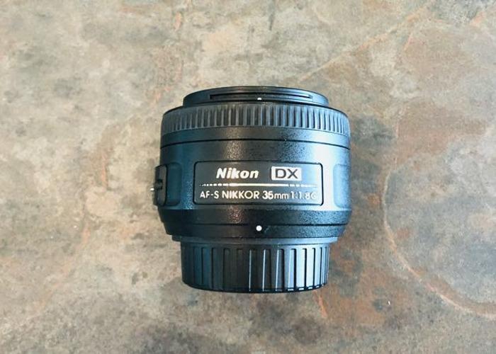 Nikon DX 35mm f/1.8G AF-S Lens - 2