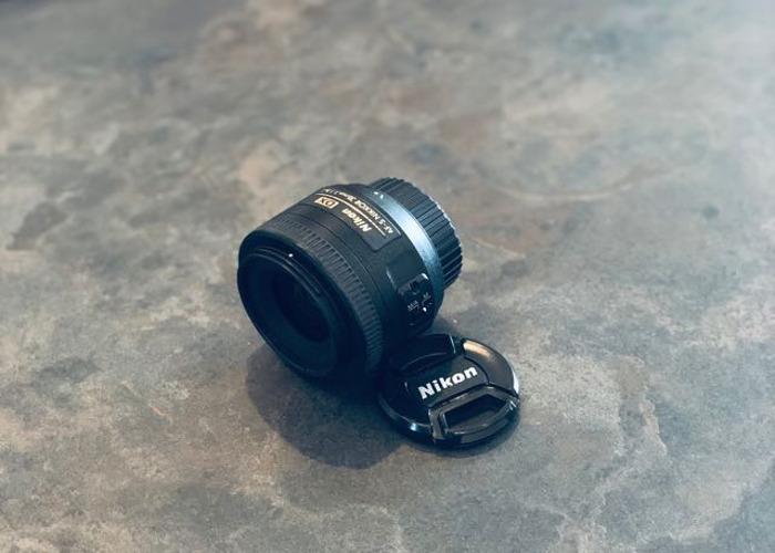Nikon DX 35mm f/1.8G AF-S Lens - 1