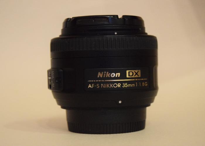 Nikon DX AF-S NIKKOR 35mm 1.8G - 1