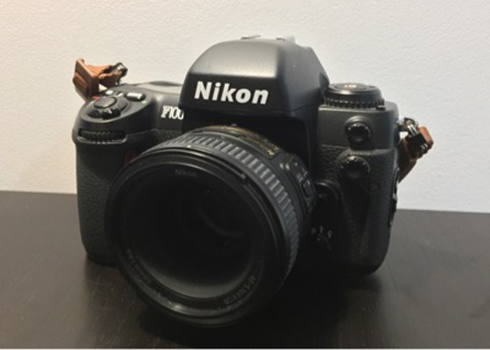 Nikon F100 w/50mm 1.8g - 1