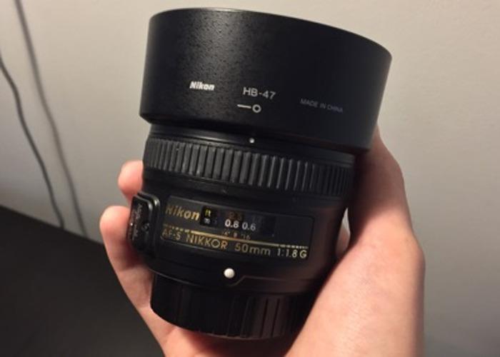 Nikon F100 w/50mm 1.8g - 2