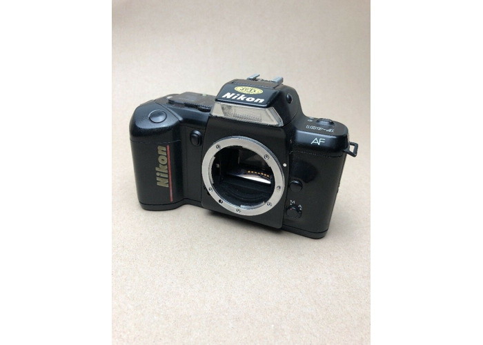 Nikon F-401 35mm Auto Focus SLR Camera Body.  TESTED IN GREAT WORKING CONDITION - 1