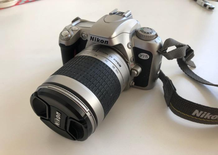 Nikon F75 w/ 28-100mm lens (film camera) - 1