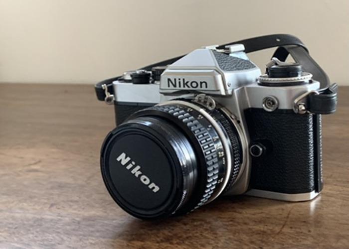 Nikon FE + NIKKOR 50mm 1.8 - 1