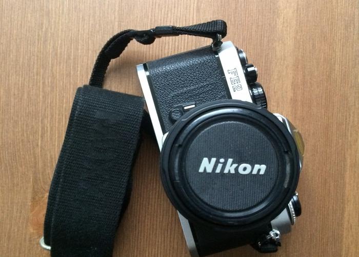 Nikon FE2 35mm SLR Film Camera + Sigma UC Zoom 28-70mm Lens - 1