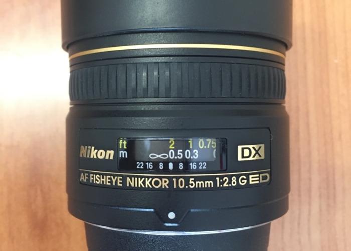 Nikon fisheye lens - 1