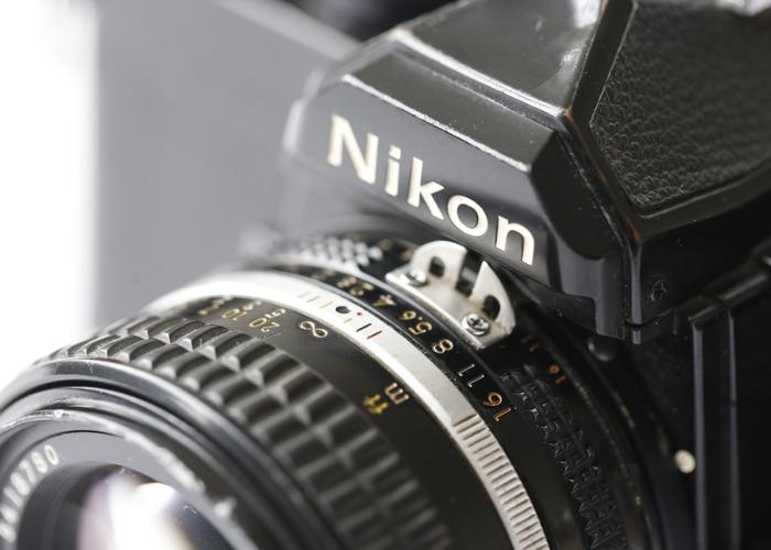 Nikon FM with 50mmf:1.4 - 2