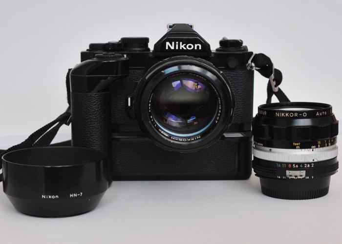 Nikon FM2 35mm Camera Kit - 1