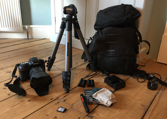 Nikon Full Frame D750 kit 28-300mm Lens, Tripod, Camera Bag - 1