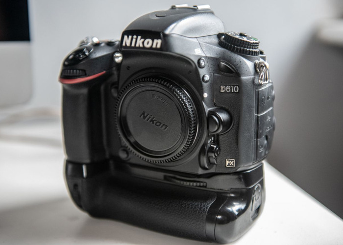 Nikon D610 Full Frame with Lens and Flash Package Camera Kit - 1
