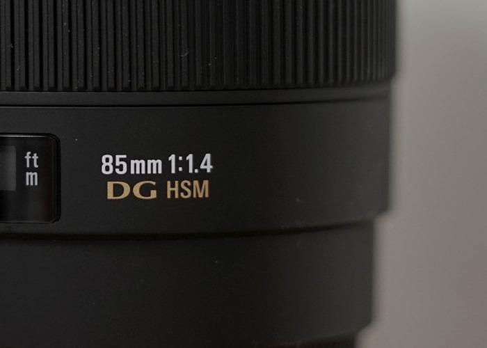 Sigma for Nikon F 85mm/f1.4 - 2
