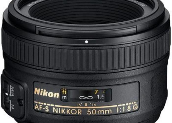 Nikon Lens : 50mm f1.8 G - 1