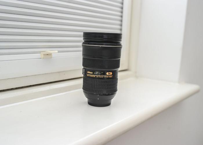 Nikon Lens Nikkor AF-S 24-70mm f/2.8G ED, Black - 1