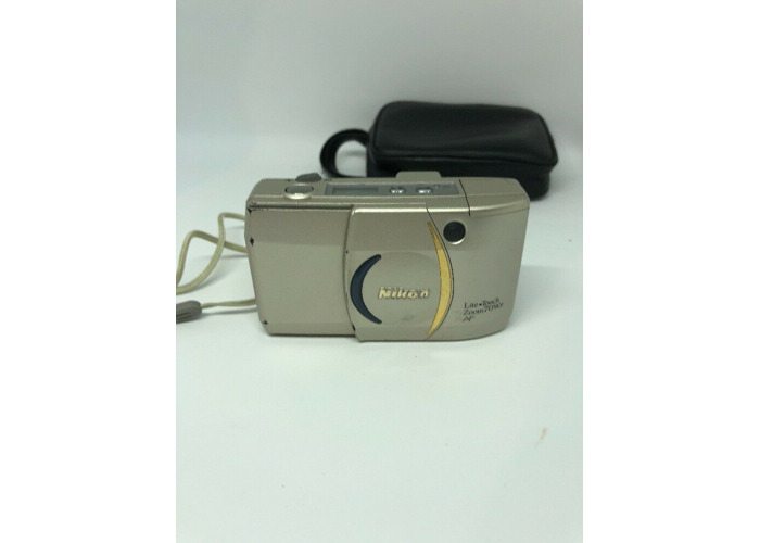 Nikon Lite Touch Zoom 70 Ws AF  Compact 35mm Camera. Great condition+case  #p119 - 1