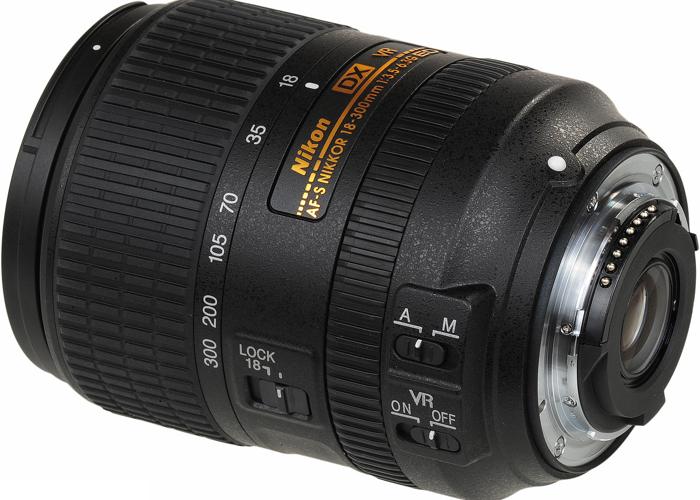 Nikon Nikkor 18mm - 300mm VR EDG (2 days min rental) - 1