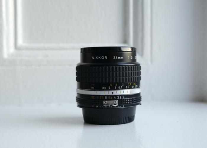 Nikon NIKKOR 24mm f/2.8 Lens - 1