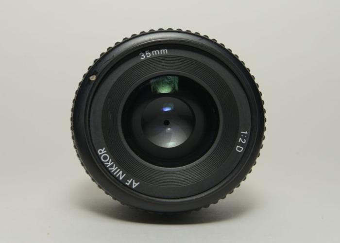 Nikon Nikkor AF D 35mm f/2D AutoFocus Lens - 2