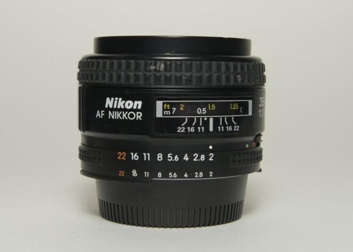Nikon Nikkor AF D 35mm f/2D AutoFocus Lens - 1