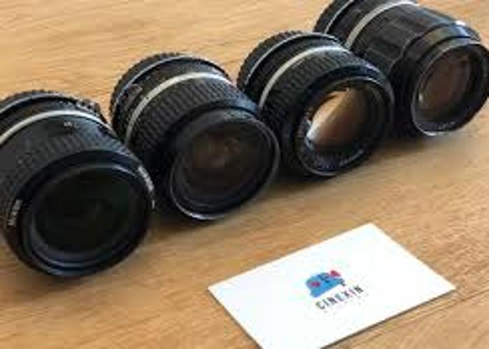 Nikon Nikkor AI Lens Kit for Canon Eos Mount. - 2