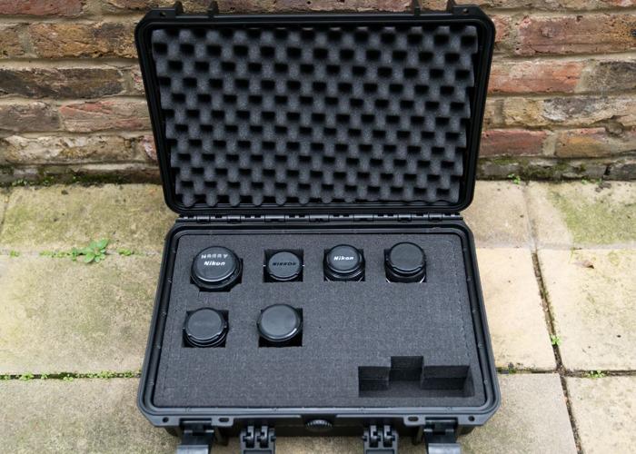 Lens set Nikon Nikkor Ai - Vintage / Manual  - Sony E mount adapter - 2