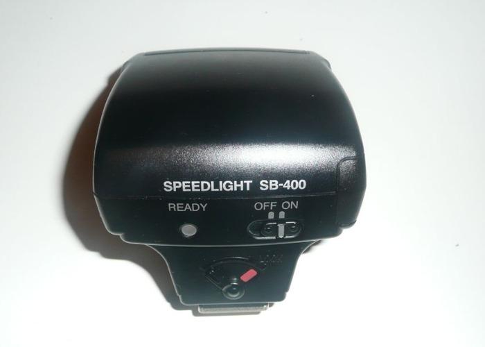Nikon SB-400 flashgun - 2
