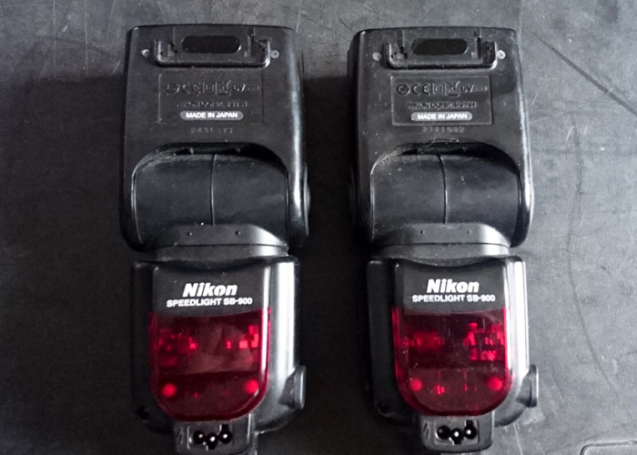 Nikon Speedlight SB900 x2 - 1