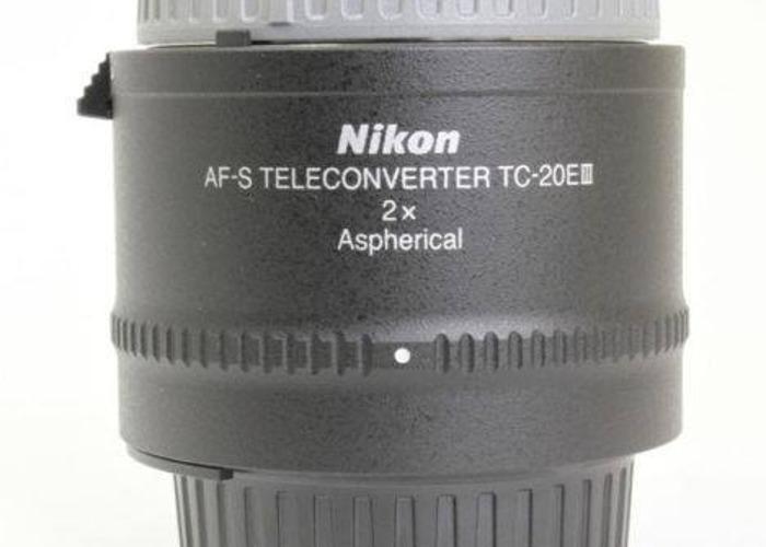 Nikon TC-20E III AF-S Tele Converter - 1