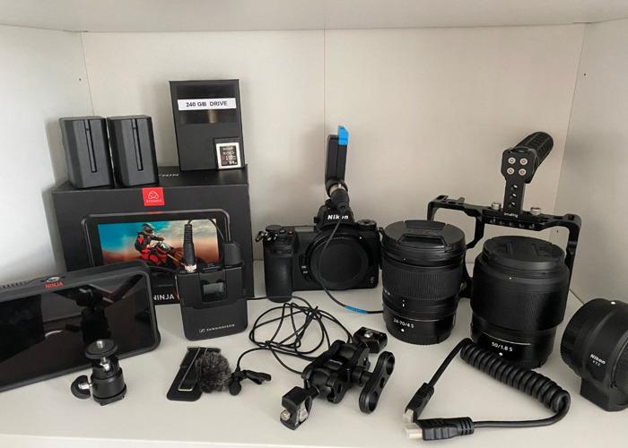 Nikon Z 6 All Inclusive Self Shooting Kit  - 1