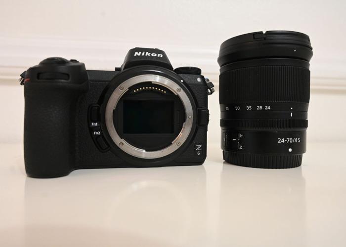 Nikon Z6 + 24-70mm F4 Kit  - 1