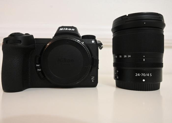 Nikon Z6 + 24-70mm F4 Kit  - 2