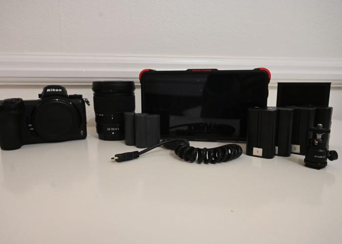Nikon Z6 4K 10 bit Shooting Kit  - 1