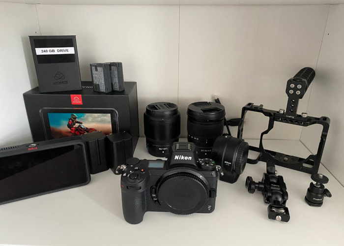Nikon Z6 4K 12bit RAW Shooting Kit + 2 Lenses - 1