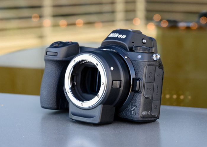 Nikon Z7 with FTZ adapter, 50mm nikon f.1.8 lens and 120GB XQD card - 1