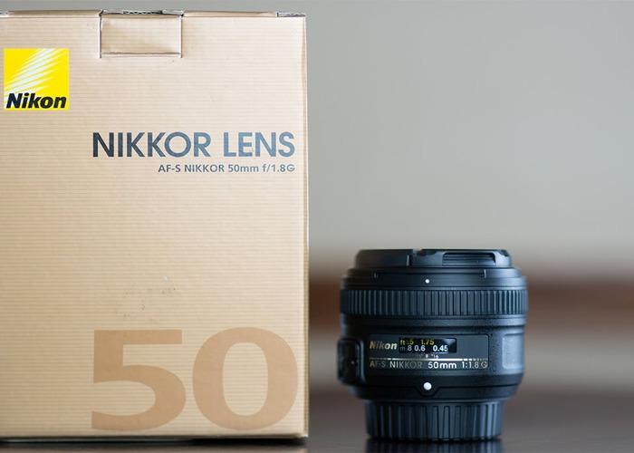 Nikon Z7 with FTZ adapter, 50mm nikon f.1.8 lens and 120GB XQD card - 2