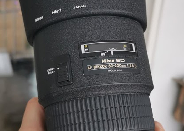 Nikon Zoom lens - NIKKOR AF 80-200mm f/2.8D AF ED - 2