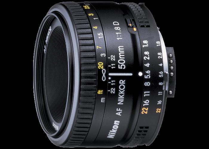 Nikor 50mm 1.8G Lens - 1