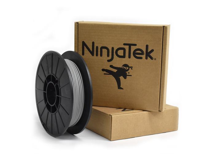 NinjaFlex Filament  - 2.85mm - 0.5 kg - Steel - 1