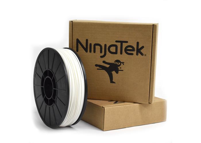 NinjaFlex Filament  - 2.85mm - 1 kg - Snow White - 2