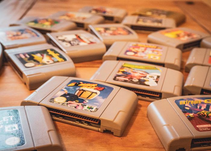 Nintendo 64 + 4 Controllers + 5 Games + HDMI  - 2