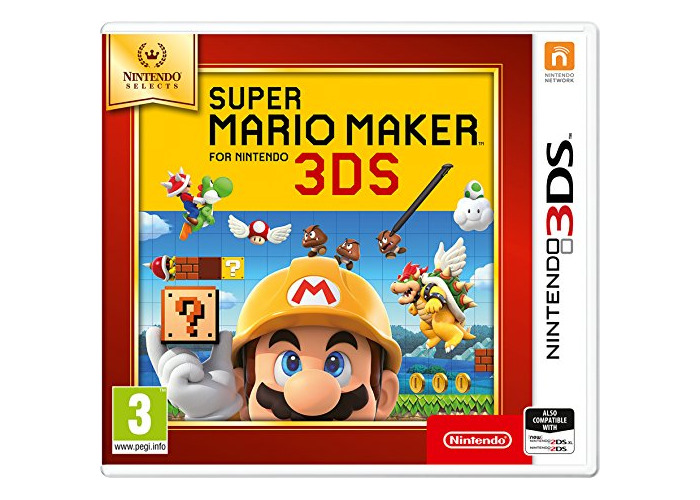 Nintendo Selects - Super Mario Maker (Nintendo 3DS) [video game] - 1