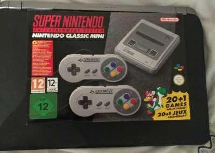 Nintendo Snes mini classic - 1